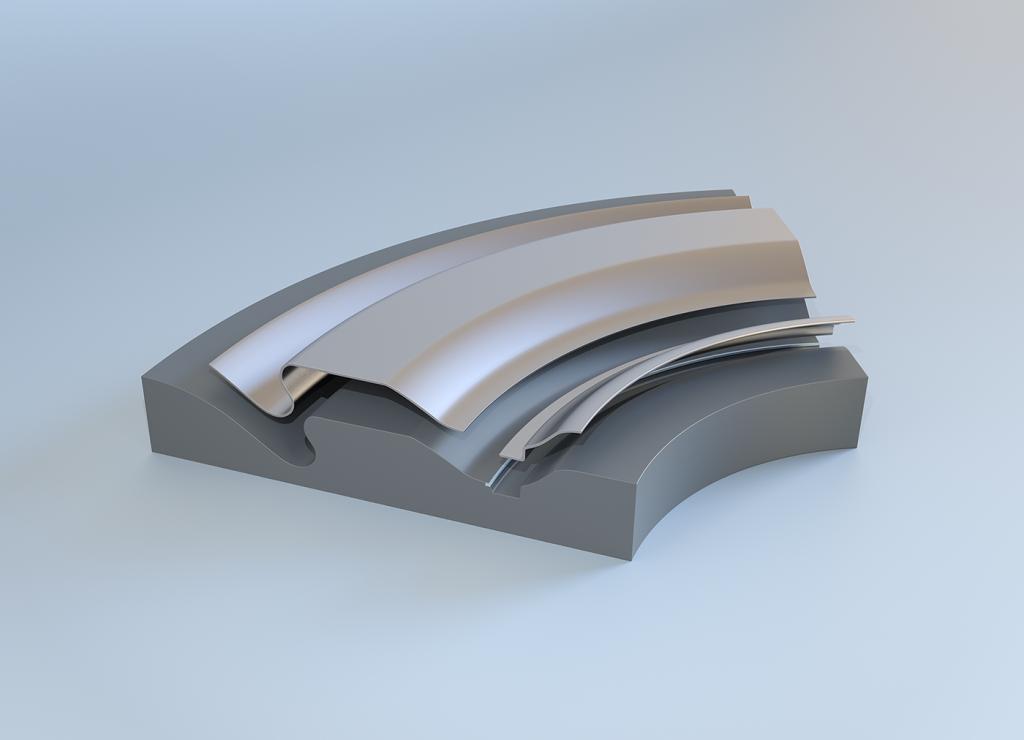 automotive sheet metal press parts